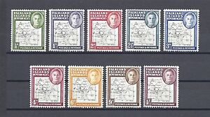 Falkland Island Dependencies 1946-49 SG G9/16 LMM Cat £100