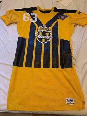 Starter Game Issued 1994 Dermontti Dawson Pittsbugh Steelers TBTC Jersey   eBay