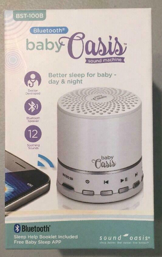 Doctor Approved Soothing Sounds for Babies /& Young Children Baby Oasis Bluetooth BST-100B