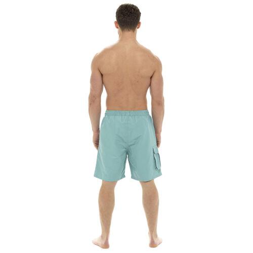 Pantaloncini da uomo nuoto vacanze spiaggia piscina Cargo patta tasca Gents Surf BAULI