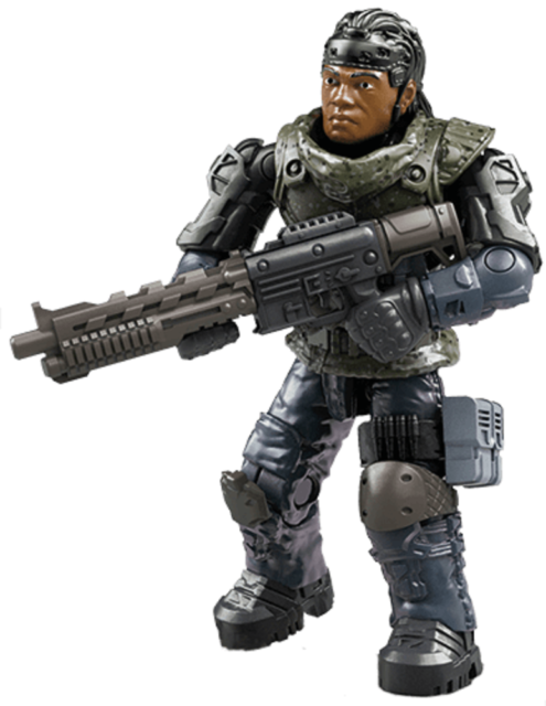 PROPHET FIGURE FROM Mega Construx Call Of Duty Black Ops 4 Standoff GCP05