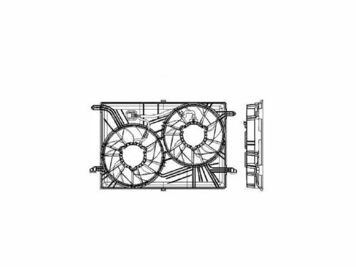 For 2008-2017 Buick Enclave Radiator Fan Assembly 53574MF 2011 2009 2012 2010
