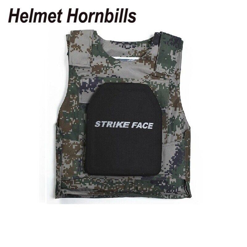 Helmet Hornbills AluminaPE Level IV  Bulletproof Panel Al2O3 Level 4 Stand Alone  presenting all the latest high street fashion