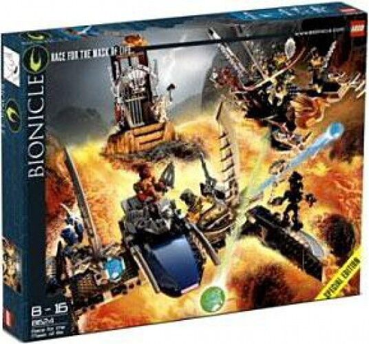 Lego Bionicle carrera por la máscara de la luz Set