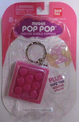 PINK MUGEN POP POP ENDLESS BUBBLE POPPING PUCHIPUCHI PUCHI BUBBLE WRAP KEYCHAIN