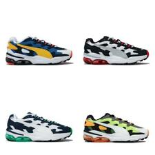 Mens Puma Cell Alien OG Trainers in Blue Green, Black Red, Blue, and Yellow