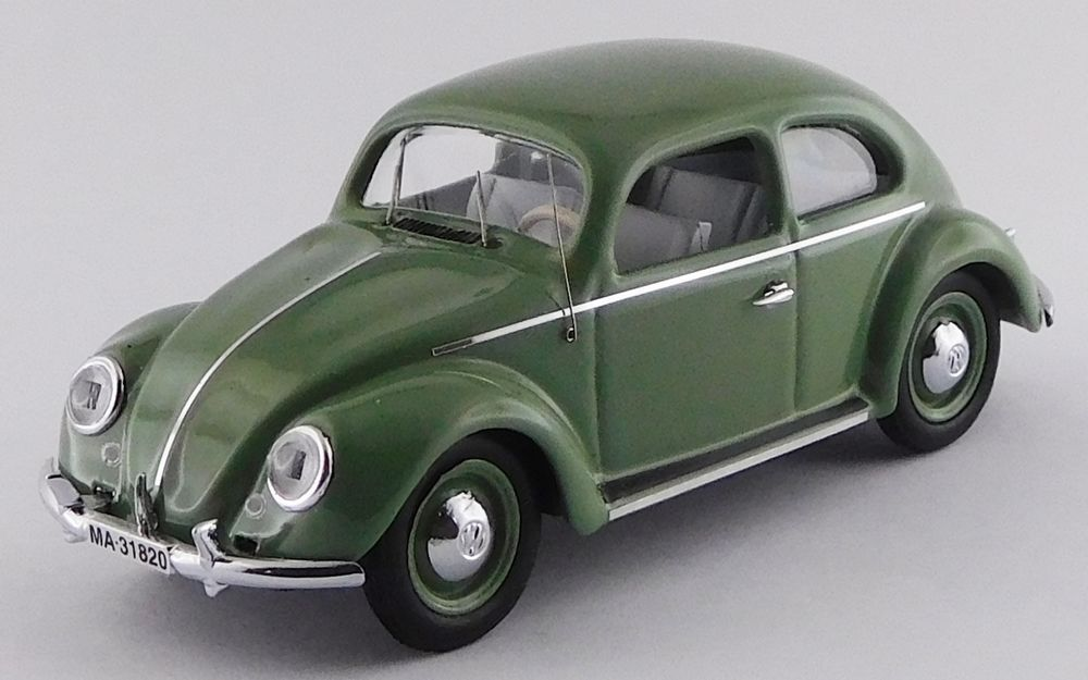Volkswagen Coccinelle De Luxe vert 1953 1 43 Rio