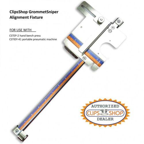 """GROMMET ALIGNMENT TOOL FOR CSTEP-2 GROMMETTING MACHINE SETTER /""""GROMMETSNIPER/"""""""