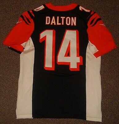 Andy Dalton Black Cincinnati Bengals Authentic Nike Elite Jersey sz 40 w/ tags   eBay