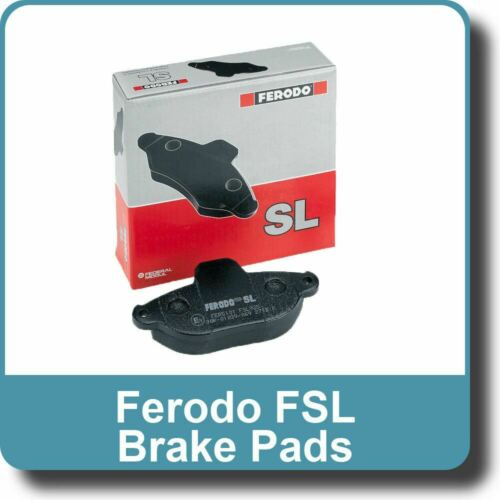 Genuine Ferodo PAIR of Front Brake Pads FSL1392
