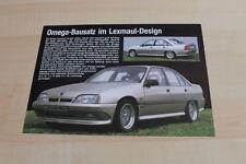 142114) Opel Omega A - Lexmaul - Prospekt 198?