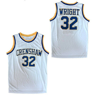 L M 2XL Love and Basketball #32 Monica Wright Jersey Sanaa Lathan  S XL