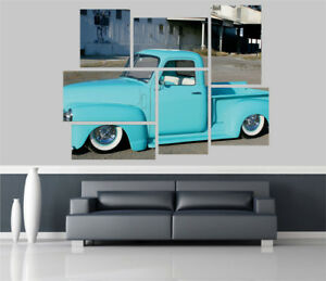 Chevy-Truck-Car-Removable-Self-Adhesive-Wall-Picture-Poster-1585