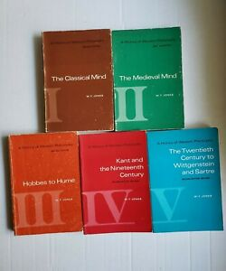The-History-of-Western-Philosophy-by-W-T-Jones-Five-Book-Set-2nd-Edition
