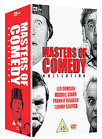 Masters-Of-Comedy-Collection-4-Disc-Box-Set-DVD-Very-Good-DVD-Tommy-Cooper