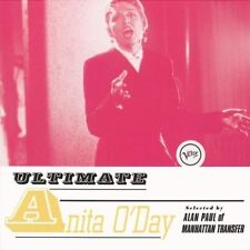 Anita O 'Day Ultimate/selected by Alan Paul of Manhattan transfer Verve CD NUOVO