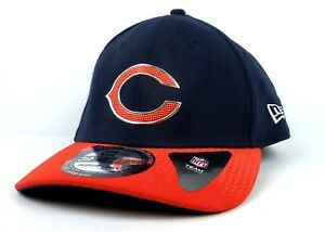 best sneakers 36ef2 a7834 Image is loading CHICAGO-BEARS-NEW-ERA-39THIRTY-SNAPBACK-CAP-HAT-