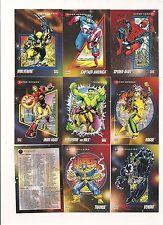 Marvel Universe Series 3 Complete set ( 200 Cards )     1992 Impel