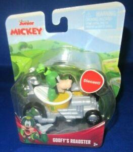 Disney-Jr-Diecast-Mickey-y-la-Roadster-Corredores-GOOFY-039-S-Roadster-Nuevo-Look