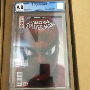 Amazing-Spiderman-796-CGC-9-8-Boomerang-Norman-Osborn-Alex-Ross-free-shipping