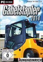 Pc Computer Spiel Gabelstapler 2014 Lager- & Logistik Simulator Und Neunew
