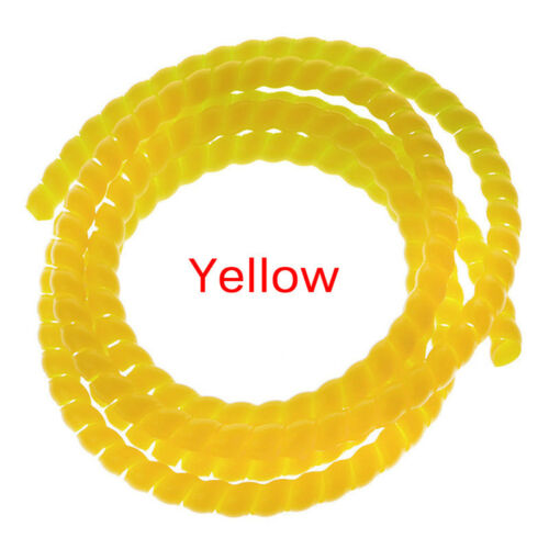 1m 10mm//14mm Spiral Wire Organizer Wrap Tube Flame retardant Cable Casing SleeON