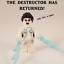 thumbnail 1 - Ghostbusters Gozer inspired custom printed Destructor Minifigure