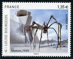 STAMP-TIMBRE-DE-FRANCE-N-4492-ART-TABLEAU-LOUISE-BOURGEOIS