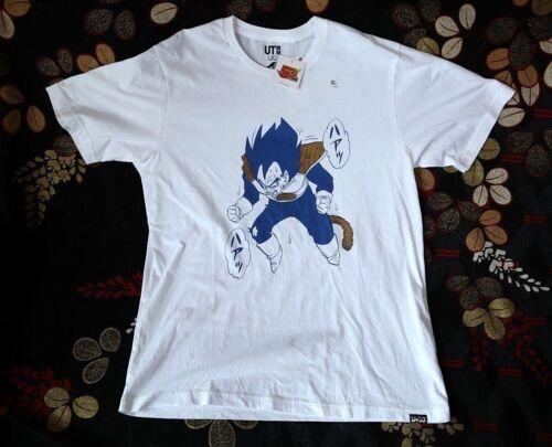 VEGETA//DRAGON BALL X UNIQLO//Shonen Jump UT Graphic T-shirt MANGA T10 Free Ship