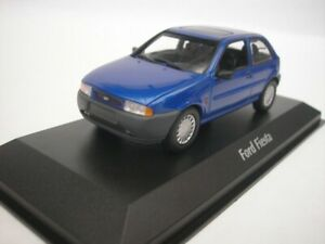 Ford-Fiesta-1995-Bleu-Metallique-1-43-maxichamps-940085061-Neuf