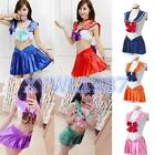 Sailor Moon Narikiri Bra Underwear Skirt Collar 4 Pcs Set Collaboration Costume