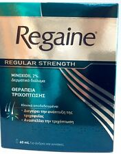 Regaine For Women  Regular Strength Scalp Solution 60ml Minoxidil 2%