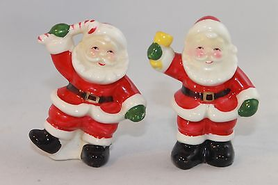 Vintage Japan Santa Claus Salt & Pepper Shaker Charming 2 Piece Set