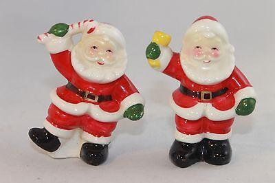 Vintage Japan Santa Claus Salt & Pepper Shaker Charming 2 Piece Set