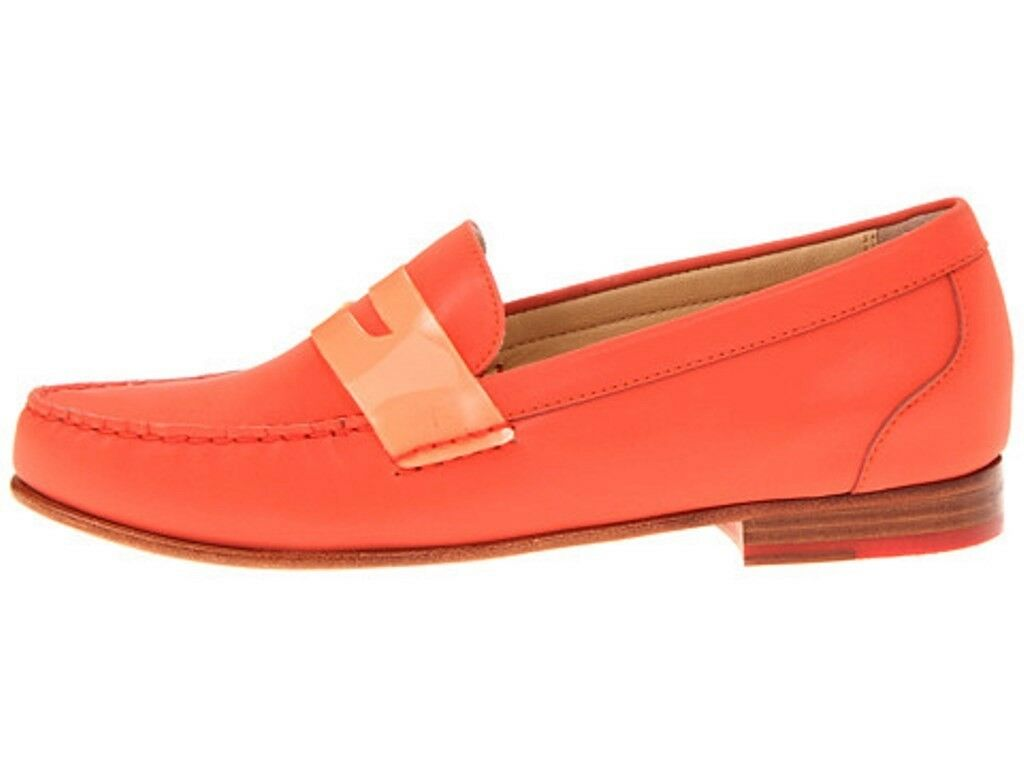 Women's shoes Cole Haan Haan Haan MONROE PENNY Loafers Moccasins orange Pop Reflect b2f8d2