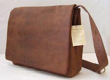 Harold's Kuriertasche 39*32*10 cm Rind-Leder Messenger Schulter-Tasche 310403