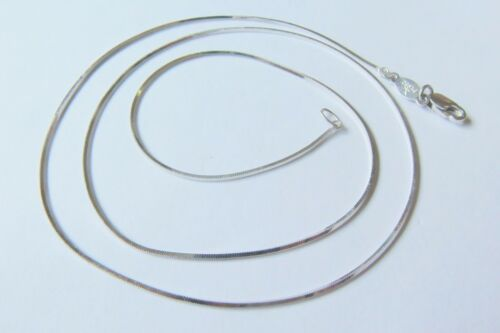 """NEW Pt950 Pure Platinum 950 Perfect Snake Chain Woman/'s Fashion Necklace 15.74/""""L"""