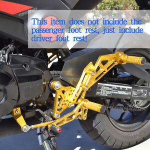 FOR-Honda-Grom-MSX125-2013-2014-2015-2016-CNC-Rearsets-Foot-Pegs-Rear-set