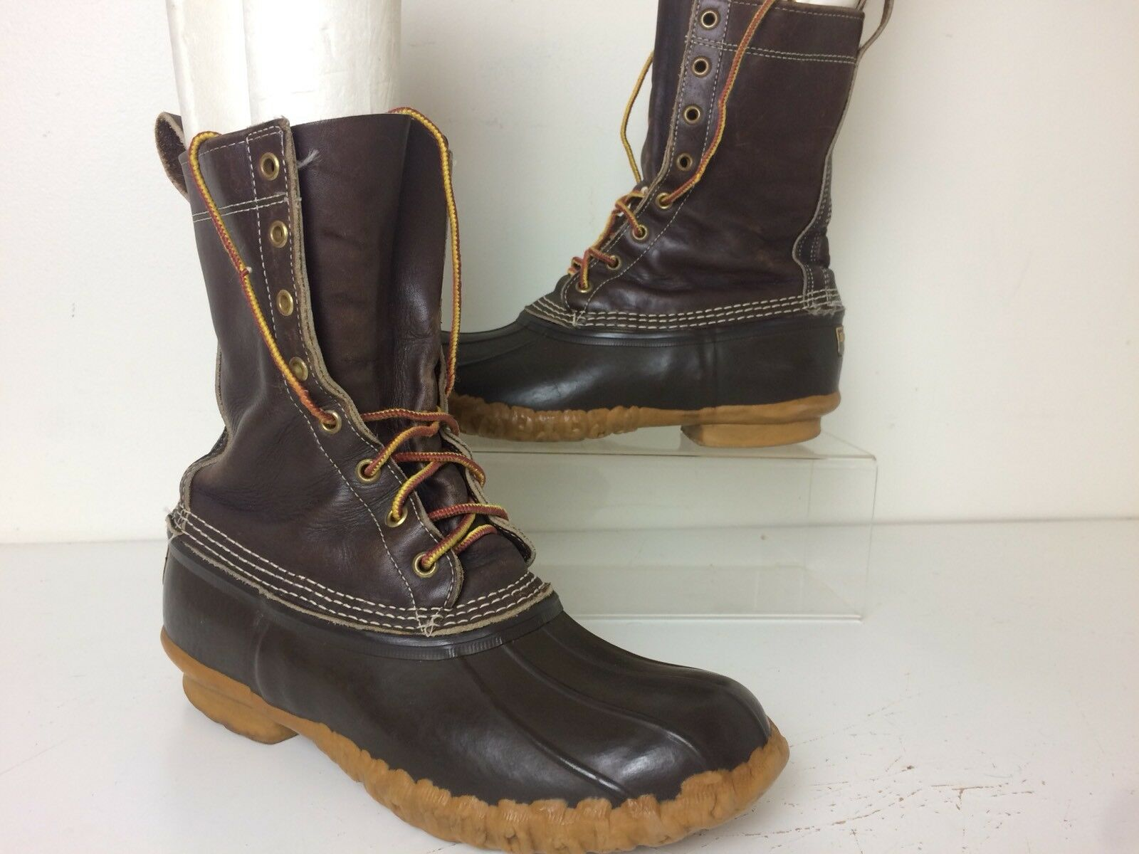 Vintage Men's Bean Boots by L.L.Bean Gumshoe Size 8 Made In USA