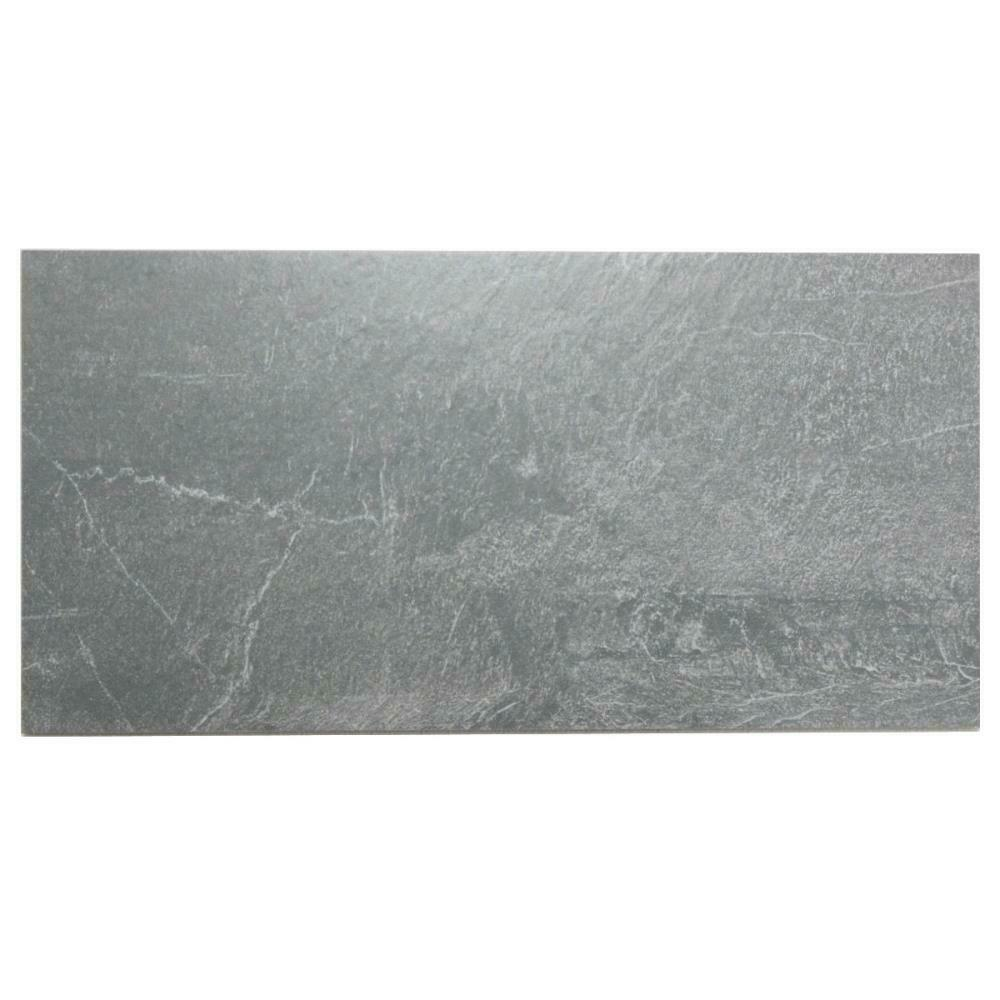 Bodenfliese Villeroy & Boch 2170 LU91 Lucerna graphit 35 x 70 cm I. Sorte