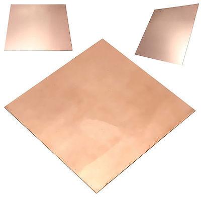 1pc 99 9 100mm 100mm 0 5mm Pure Copper Cu Sheet Plate