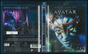AVATAR LIMITED 3D EDITION BLU RAY 3D 2D E DVD 2010 BLU RAY OTTIMO USATO