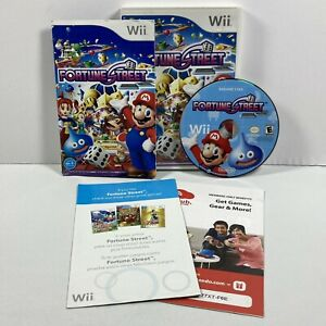 Fortune-Street-Nintendo-Wii-2011-Complete-w-Manual-amp-Inserts-Tested-Working