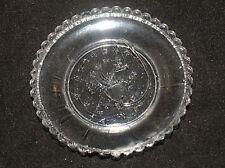 ANTIQUE SANDWICH AMERICAN GLASS CUP PLATE EAGLE GROUP LEE 680 PATRIOTIC