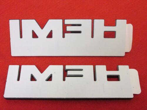 DODGE RAM 2500 3500 Matte Black HEMI 6.4 Liter Nameplates X2 NEW OEM MOPAR