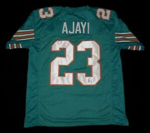 pretty nice d7a23 ea319 Details about JAY AJAYI AUTOGRAPHED CUSTOM JERSEY (MIAMI DOLPHINS) - JSA  COA!