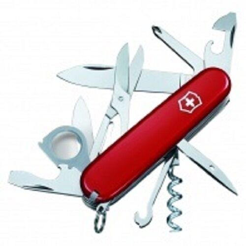 Victorinox Swiss Army Explorer Knife Red 53791
