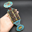 brass  Cloisonne  five blessings  Good luck and happiness to you  Abacus