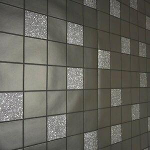 Attractive ... Schwarz Glitzer Kueche Amp Badezimmer Granit Tapete 89130