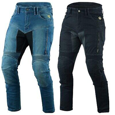 54 Kurz//Weite 38 L/änge 30 2XL , Schwarz Jet Motorradhose Jeans Kevlar Aramid Mit Protektoren Herren